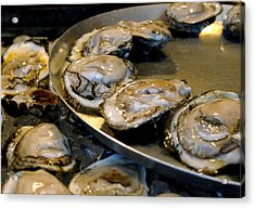 Oysters On The Half Shell Acrylic Print by Ellis C Baldwin