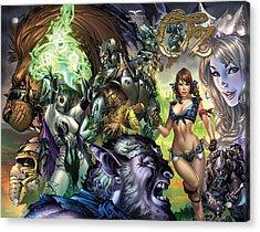 Oz 01k Acrylic Print by Zenescope Entertainment
