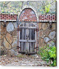 Ozark Gate Acrylic Print by Jan Amiss Photography