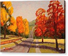 Ozarks October Acrylic Print