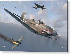 P-400 Hells Bells Acrylic Print