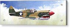 P-40e Warhawk Acrylic Print