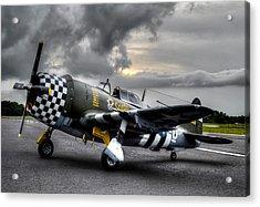 P-47 Sunset Acrylic Print