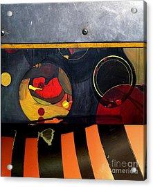 p HOT 115 Acrylic Print by Marlene Burns