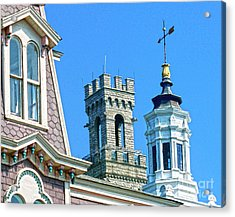 P-town Towers Acrylic Print