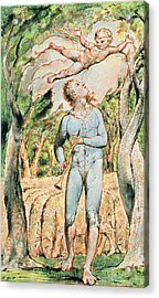 P.124-1950.ptl Frontispiece To Songs Acrylic Print by William Blake