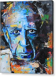 Pablo Picasso Acrylic Print by Richard Day