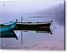 Pacheco Blue Boat Acrylic Print