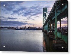 Pacific Basin Acrylic Print by Eric Gendron