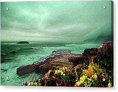 Pacific Beauty Acrylic Print by Dale Stillman
