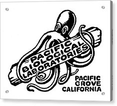 Pacific Biological Laboratories Of Pacific Grove Circa 1930 Acrylic Print