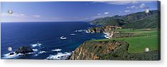 Pacific Coast, Big Sur, California, Usa Acrylic Print