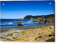 Pacific Coast Acrylic Print by Donald Fink