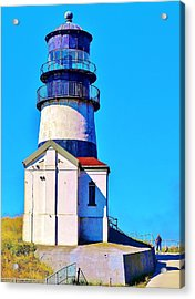 Pacific Coast Light House Acrylic Print