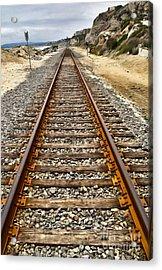 Pacific Coast Railroad Acrylic Print