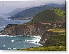 Pacific Coast View Acrylic Print
