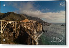 Pacific Coastal Highway Acrylic Print