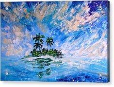 Pacific Island Acrylic Print