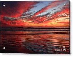 Oceanside Reflections Acrylic Print