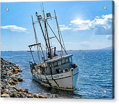 Pacific Maid 2 Acrylic Print by Dawn Eshelman