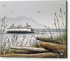 Pacific Northwest Ferry Acrylic Print