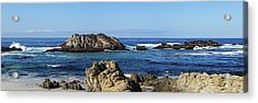 Acrylic Print featuring the photograph Pacific Ocean Panoramic by Kathy Churchman