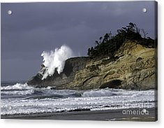Pacific Power On The Cape Acrylic Print