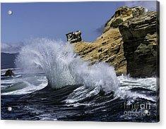 Pacific Splash Acrylic Print