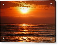 Acrylic Print featuring the photograph Pacific Sunset @ Point Loma by Photography  By Sai