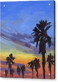 Pacific Sunset 2 Acrylic Print