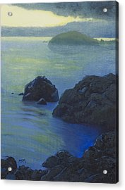 Pacific Sunset Northern California  Acrylic Print