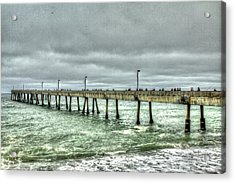 Pacifica Municipal Fishing Pier 7 Acrylic Print