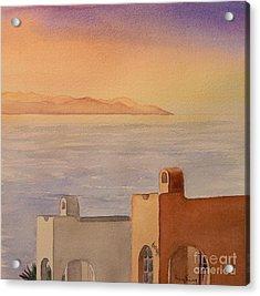 Pacifica Sunset Acrylic Print