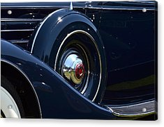 Acrylic Print featuring the photograph Packard - 1 by Dean Ferreira