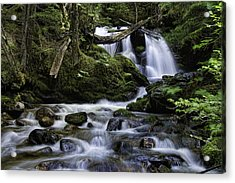 Packer Falls And Creek Acrylic Print