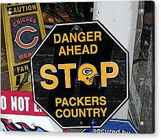Packers Country Acrylic Print
