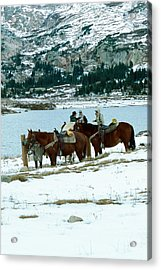 Packing Up Acrylic Print by Eric Glaser