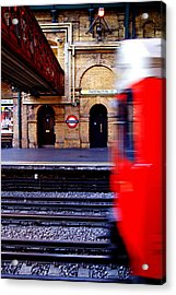 Paddington Station Tube Acrylic Print