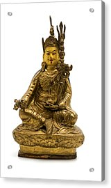 Acrylic Print featuring the photograph Padmasambhava by Fabrizio Troiani
