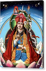 Padmasambhava Acrylic Print by Jonathan Weber
