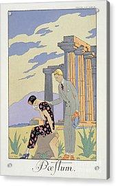 Paestum Acrylic Print