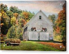 Page Farm Acrylic Print by Lori Deiter