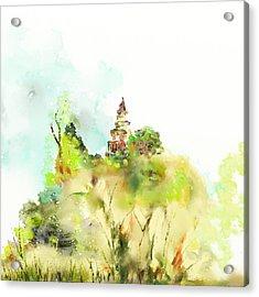 Pagoda Acrylic Print by Len YewHeng