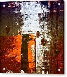 Paint Bi Color 1 Acrylic Print