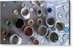 Acrylic Print featuring the photograph Paint by Chris Tarpening
