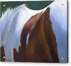 Acrylic Print featuring the painting Paint Landscape by Alecia Underhill