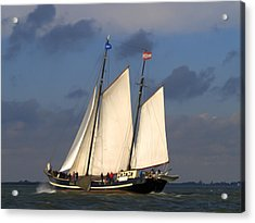 Paint Sail Acrylic Print