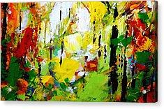 Painted Autumn Acrylic Print