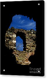 Painted Church Acrylic Print by Zafer GUDER