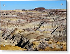 Painted Desert In Petrified Forest National Park Acrylic Print